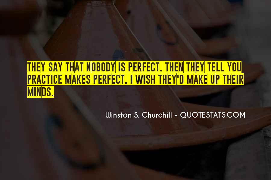 Nobody Is Perfect But Quotes #411526