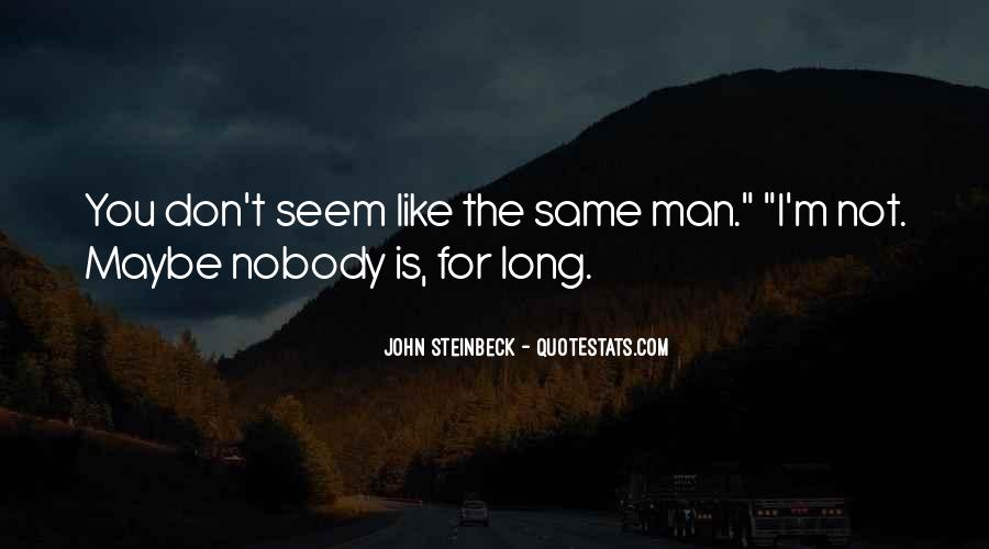 Nobody Is What They Seem Quotes #1219884
