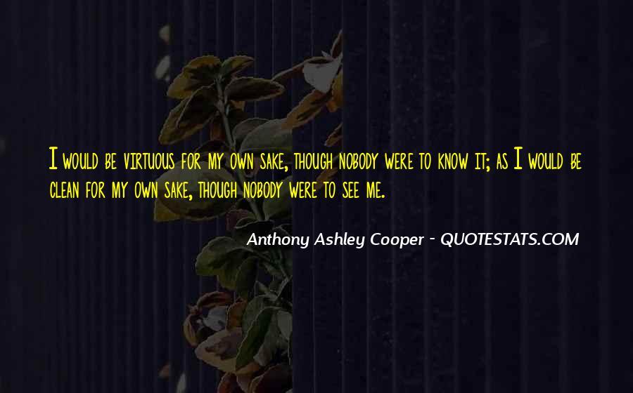 Nobody Know Me Quotes #1074206