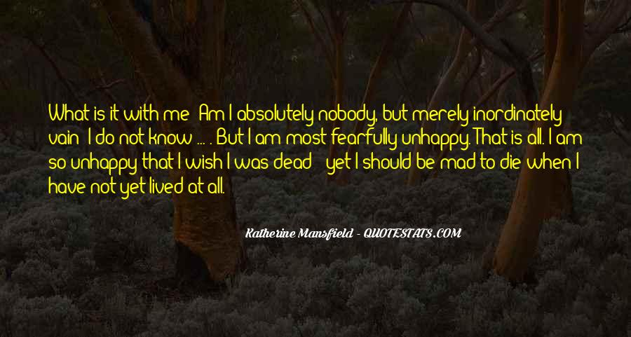 Nobody Know Me Quotes #280060