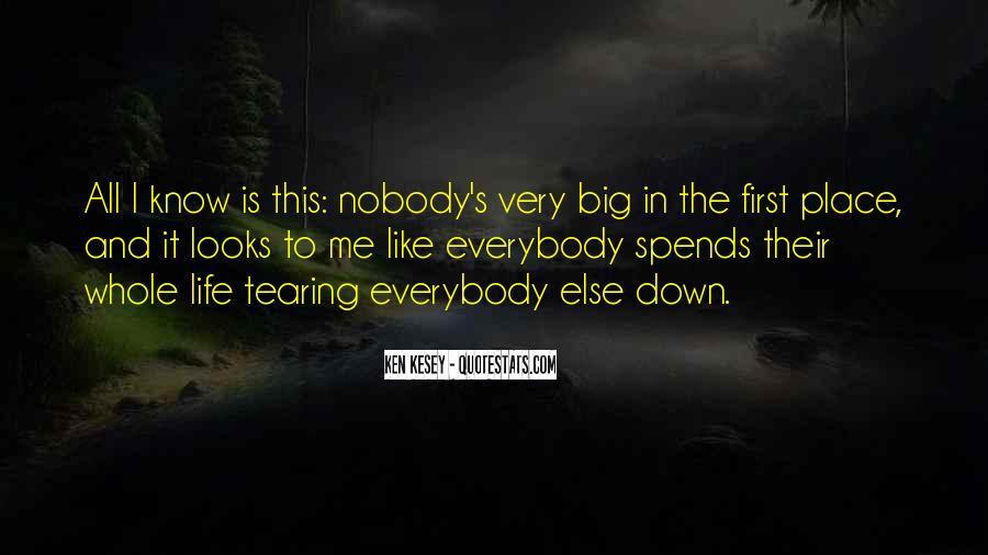 Nobody Know Me Quotes #348106
