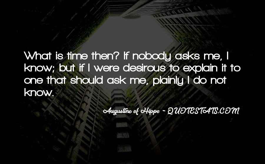 Nobody Know Me Quotes #566961