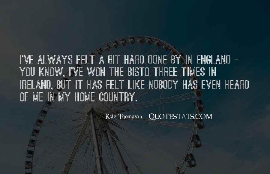 Nobody Know Me Quotes #945205