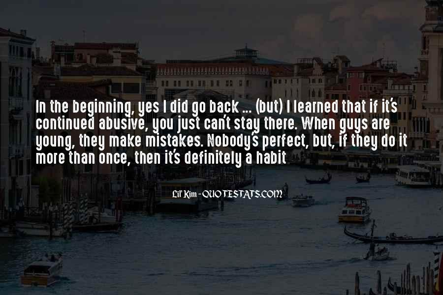 Nobody's Perfect But Quotes #280895