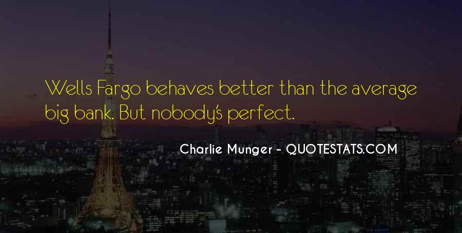 Nobody's Perfect But Quotes #551230