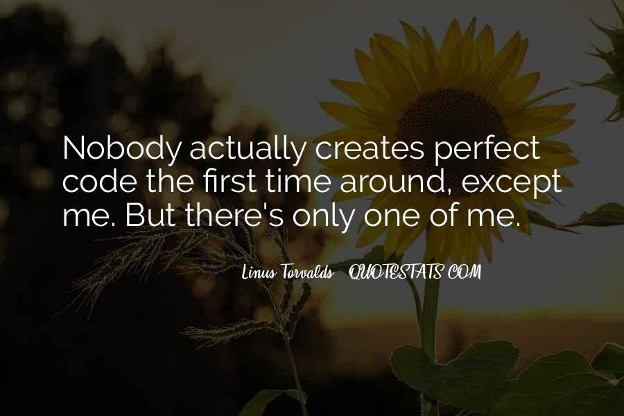Nobody's Perfect But Quotes #689105