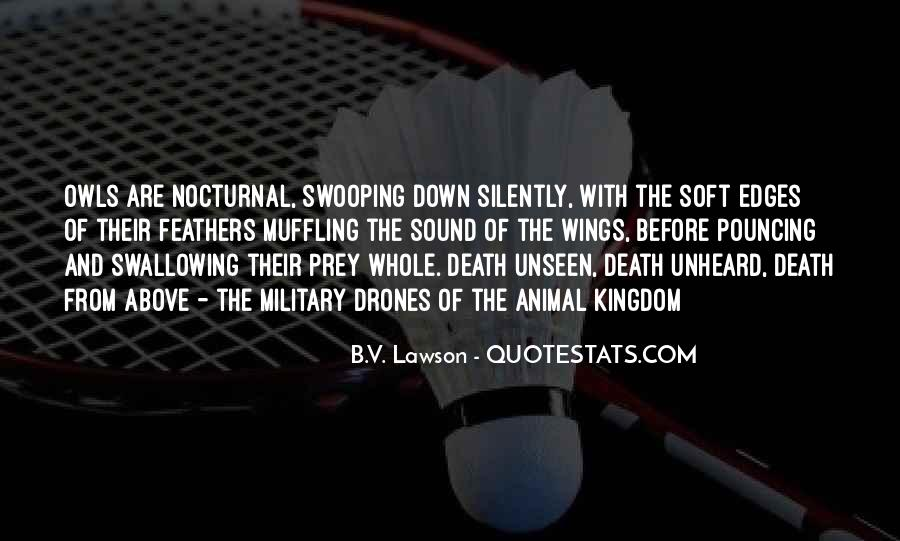 Nocturnal Animal Quotes #1328192