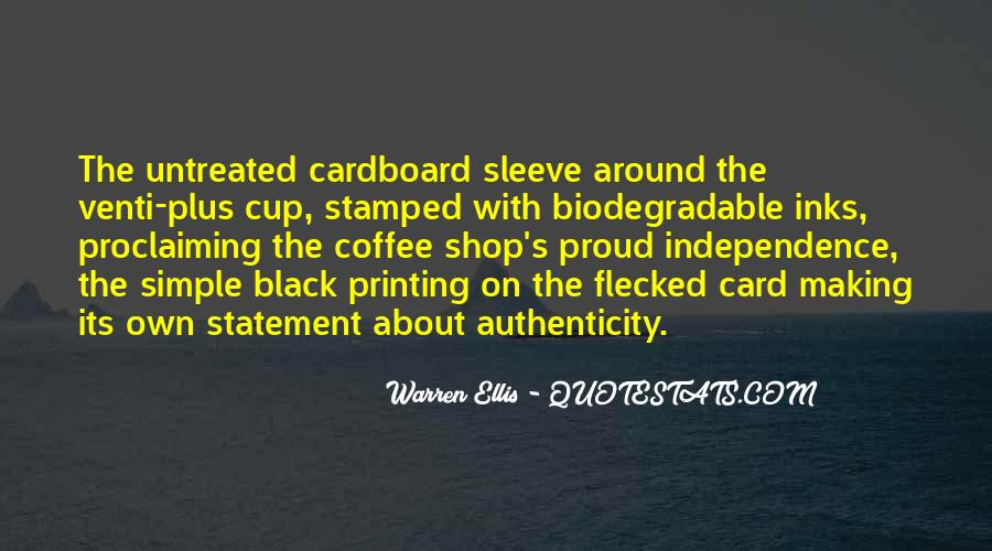 Non Biodegradable Quotes #1843587
