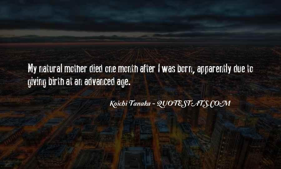 Non Birth Mother Quotes #241193