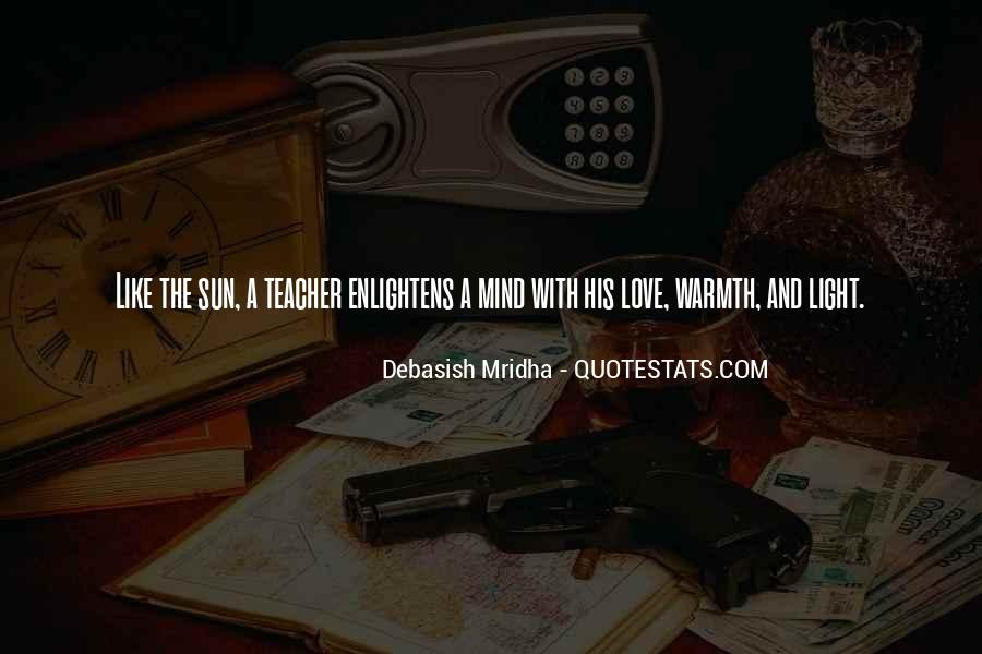 Quotes About Tagore Teachers #5917