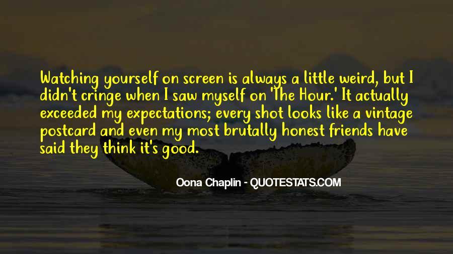 Non Cringe Quotes #158660