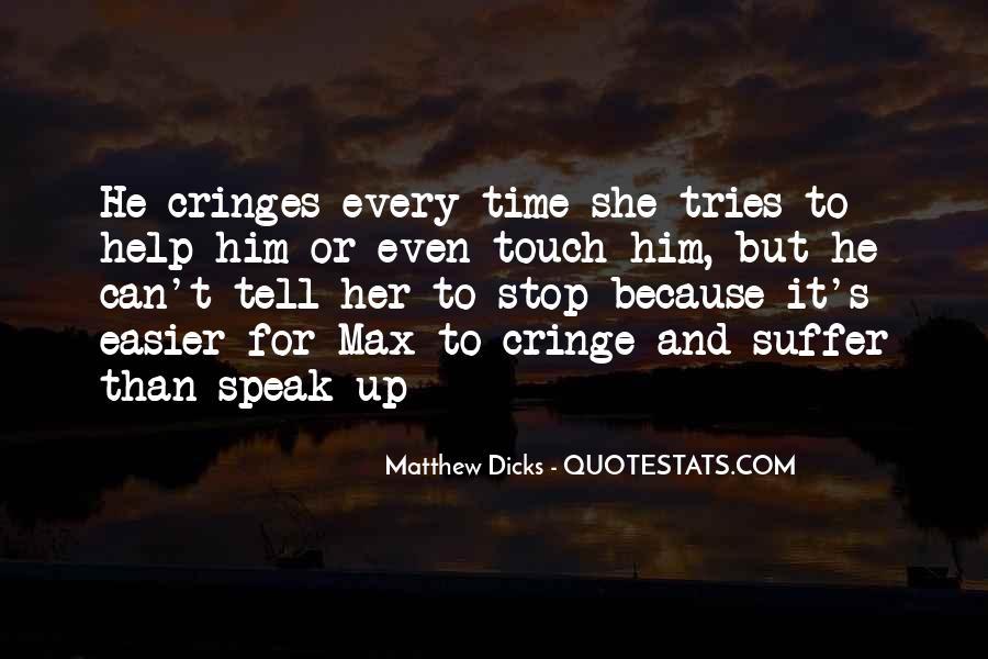 Non Cringe Quotes #419477