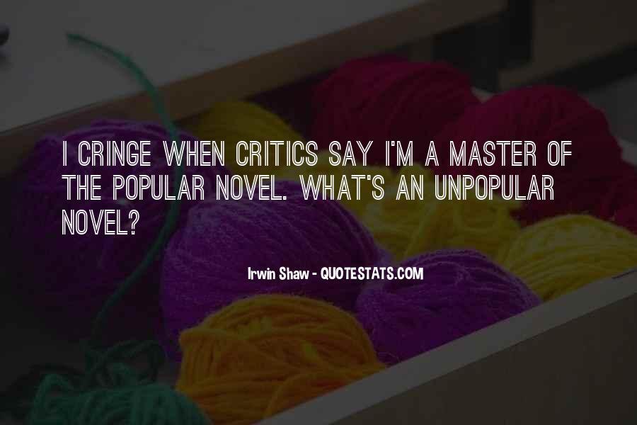 Non Cringe Quotes #765563