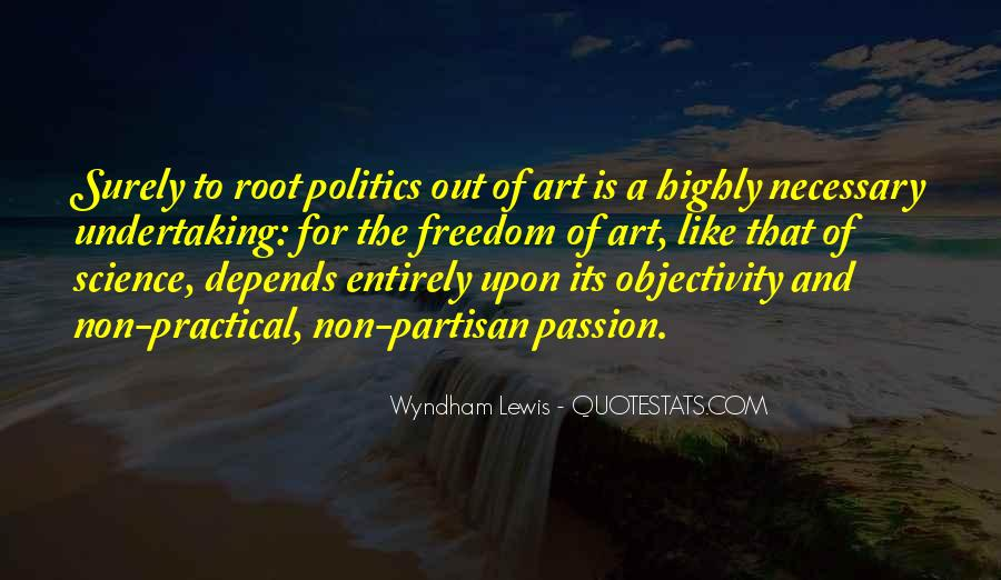 Non Partisan Quotes #1189367