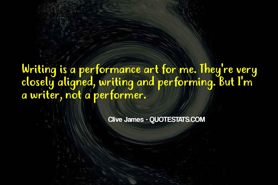 Non Performer Quotes #47306