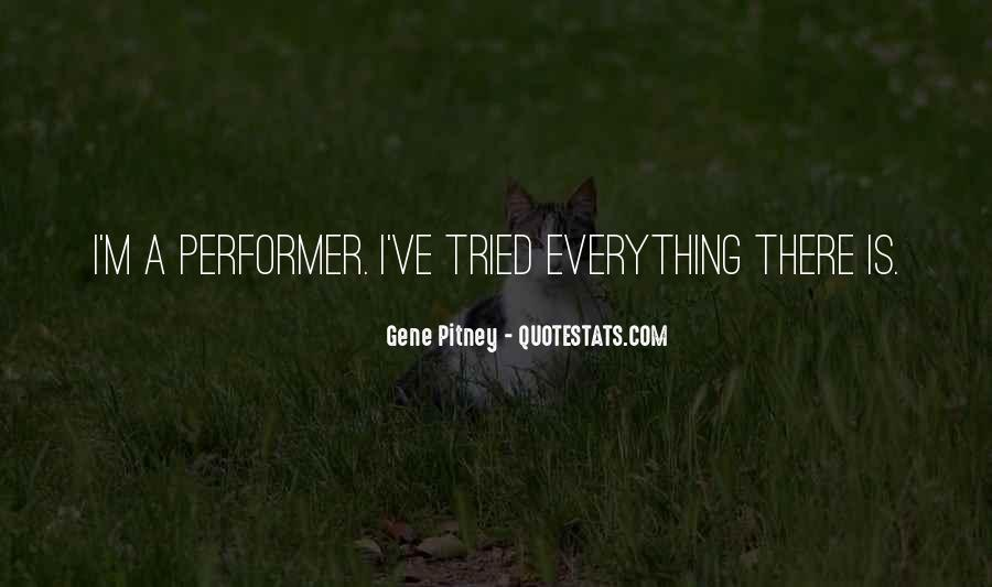 Non Performer Quotes #55011