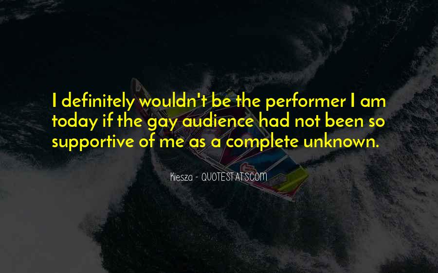 Non Performer Quotes #64590
