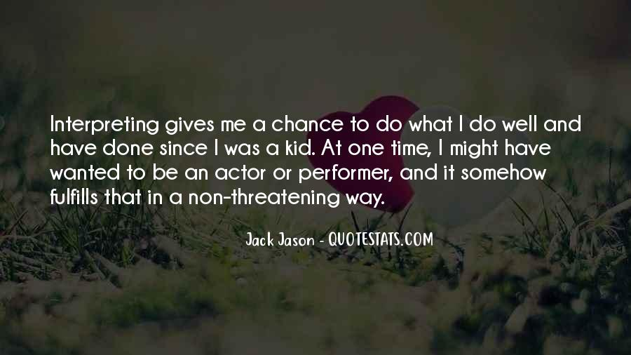 Non Performer Quotes #757733