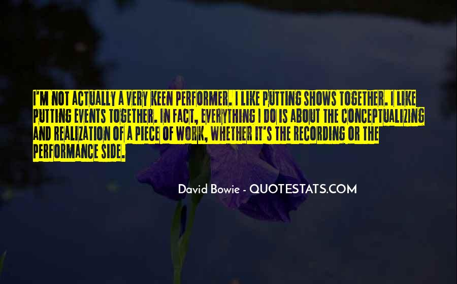 Non Performer Quotes #76620
