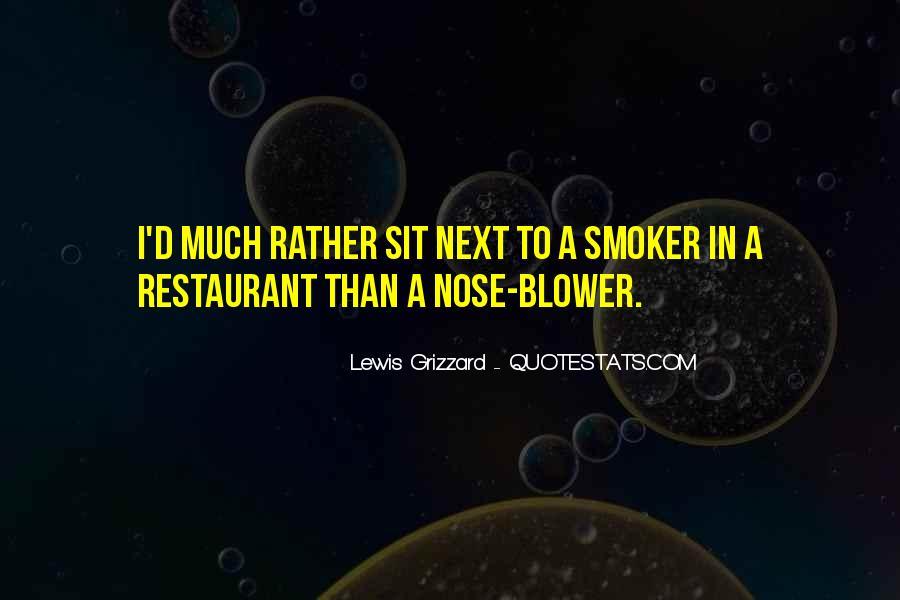 Non Smoker Quotes #1025344