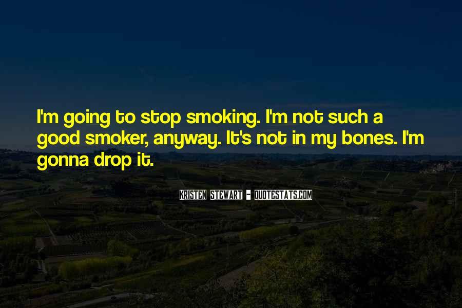Non Smoker Quotes #1039580