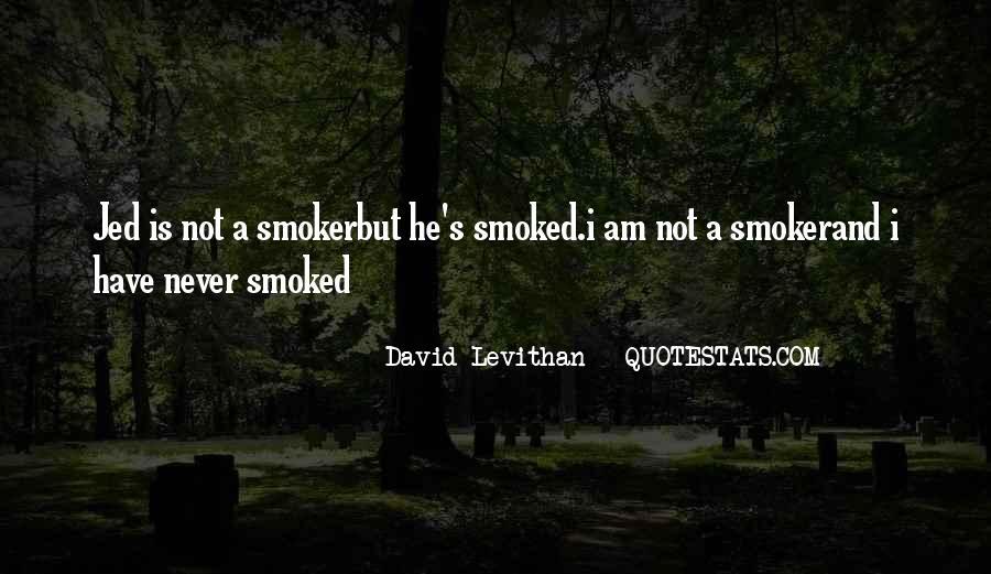 Non Smoker Quotes #1115435