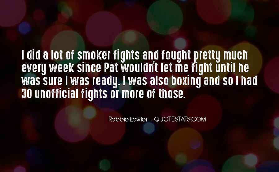 Non Smoker Quotes #1207797