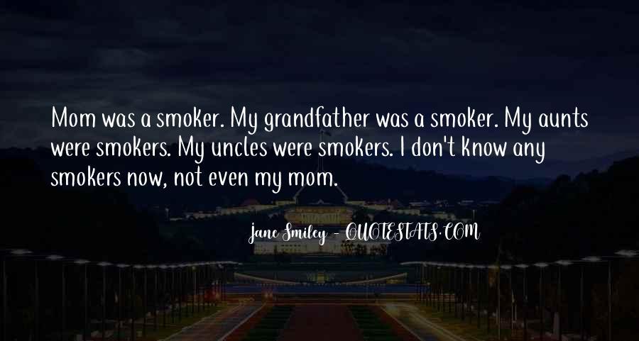 Non Smoker Quotes #1213463