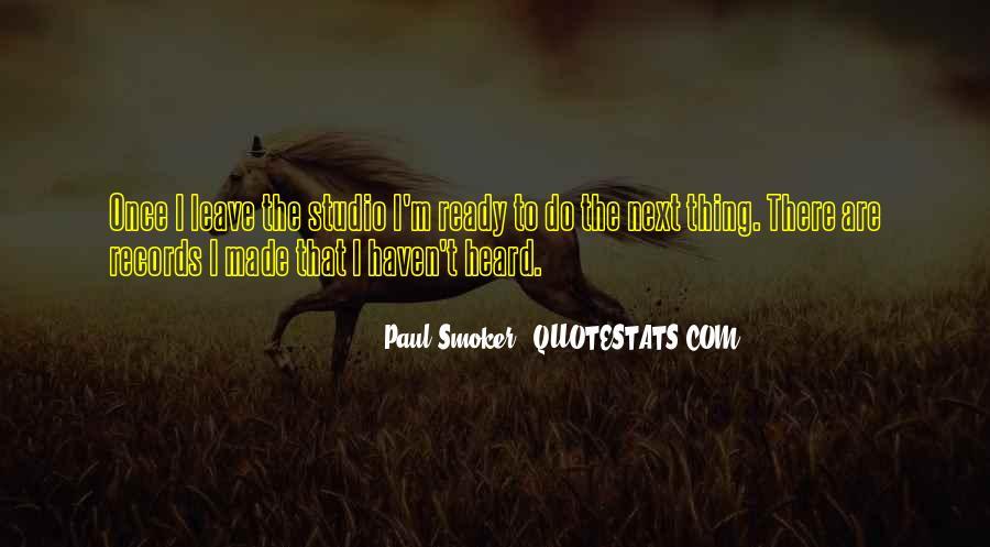 Non Smoker Quotes #1271986