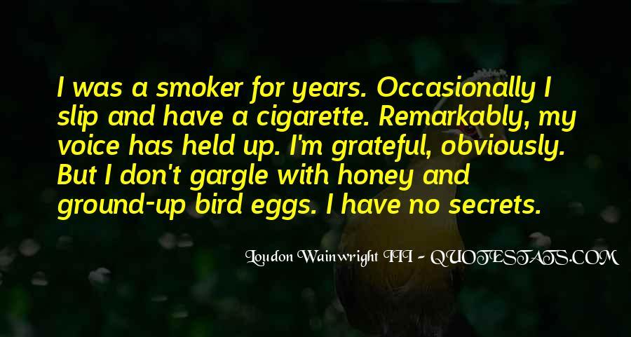 Non Smoker Quotes #134612