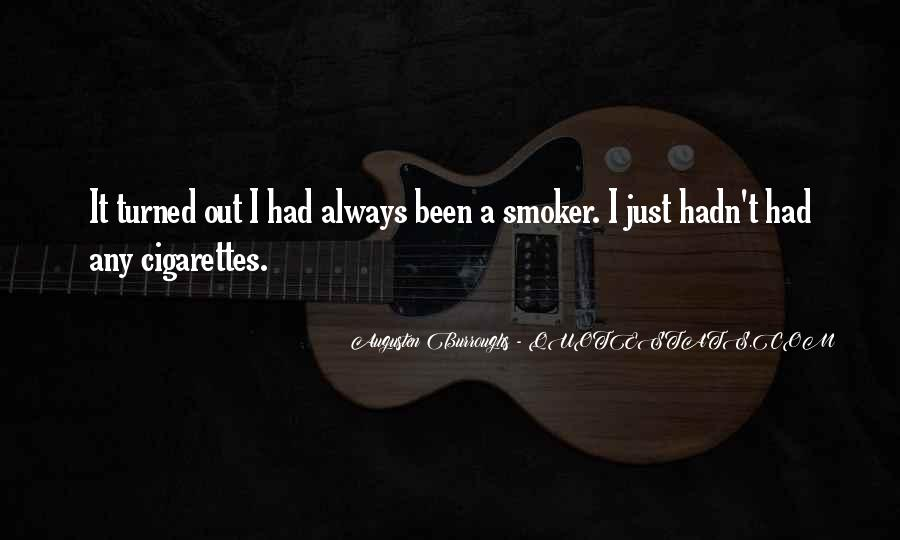 Non Smoker Quotes #1372573
