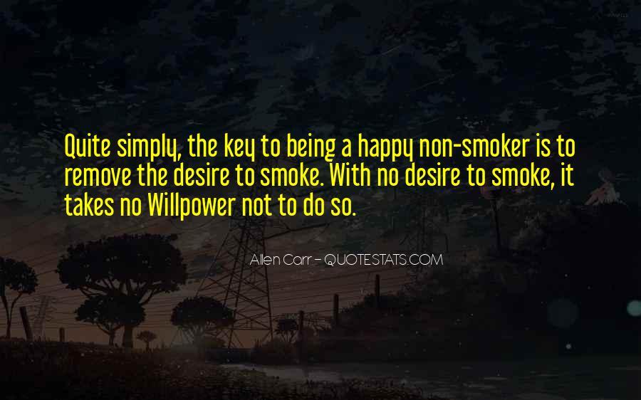 Non Smoker Quotes #16204