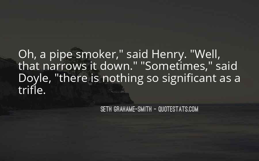 Non Smoker Quotes #1644869