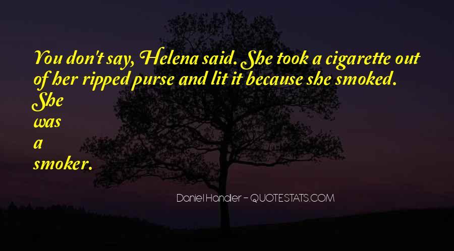 Non Smoker Quotes #1671062