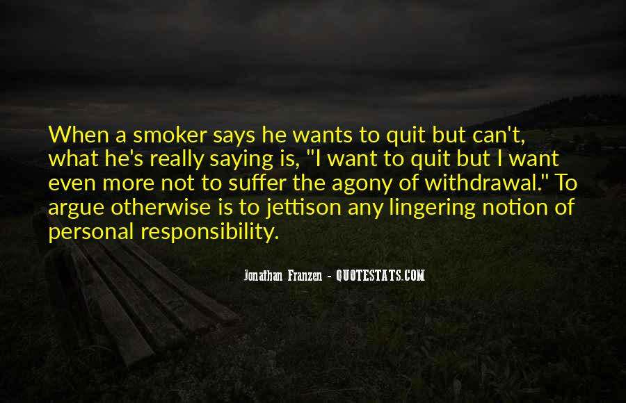 Non Smoker Quotes #1791920