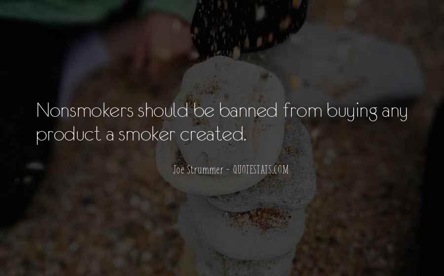 Non Smoker Quotes #182561