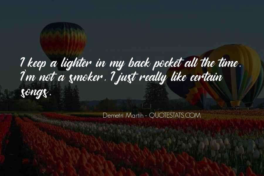 Non Smoker Quotes #408459