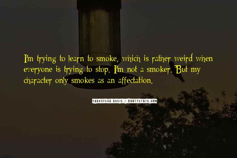 Non Smoker Quotes #463482