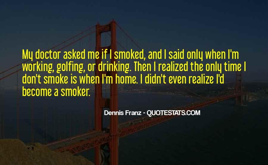 Non Smoker Quotes #469972