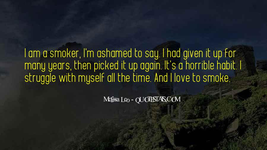 Non Smoker Quotes #642908