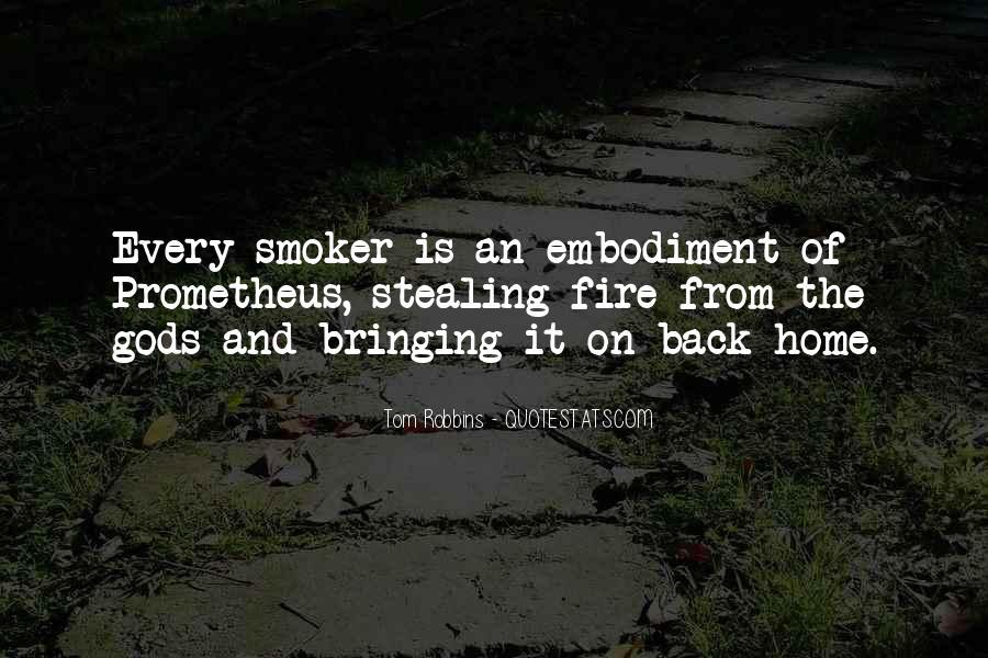 Non Smoker Quotes #762823