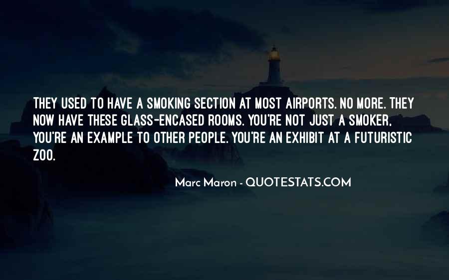 Non Smoker Quotes #768339