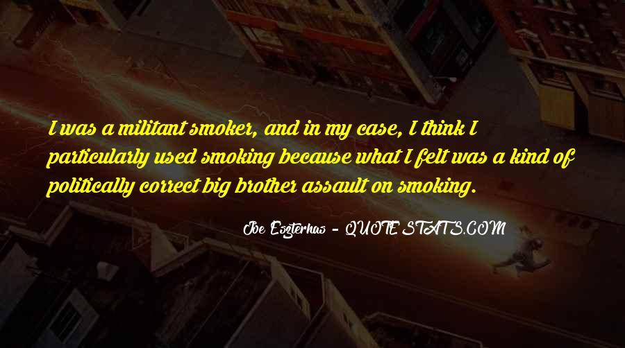 Non Smoker Quotes #837006
