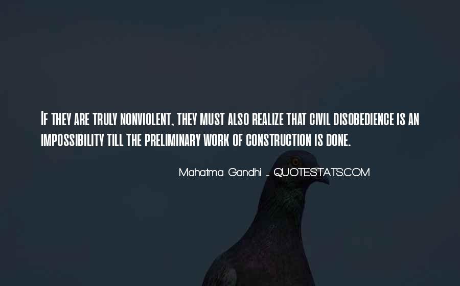 Nonviolent Civil Disobedience Quotes #1327940