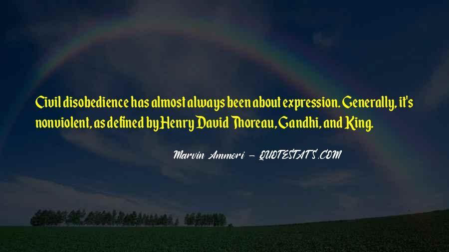 Nonviolent Civil Disobedience Quotes #227753