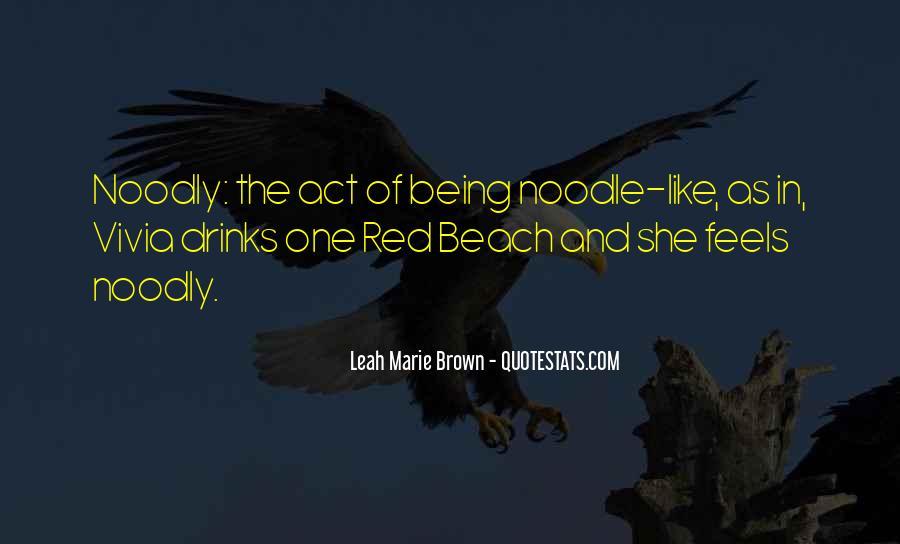 Noodle Quotes #841226