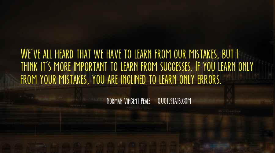 Norman Vincent Quotes #129731