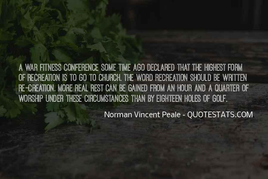 Norman Vincent Quotes #130062