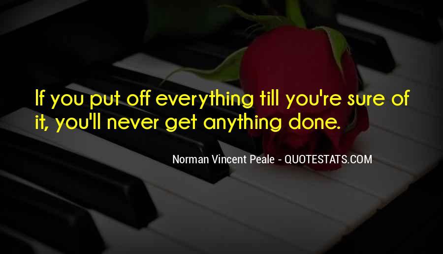Norman Vincent Quotes #139483