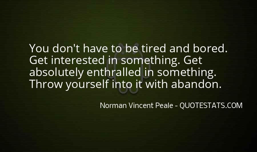 Norman Vincent Quotes #182712